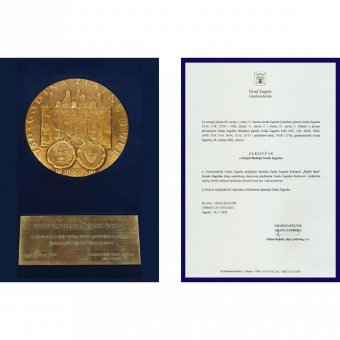 MEDAL OF THE CITY OF ZAGREB